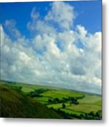 A View Over Exmoor Metal Print