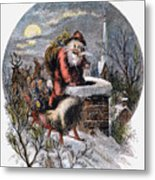 A Visit From St Nicholas Metal Print