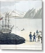 A Voyage Of Discovery Metal Print