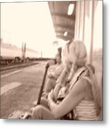 A Waiting Game Metal Print