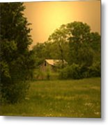 A Walk In Country Metal Print