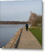 A Walk On The Wild Side - Photograph Metal Print
