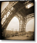 A Walk Through Paris 13 Metal Print by Mike McGlothlen