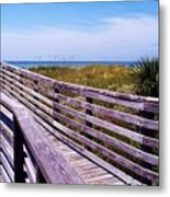 A Walk To The Beach Metal Print