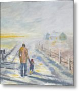 A Walked To Be Remember Metal Print