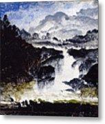 A Waterfall Metal Print