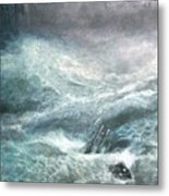 a wave my way by Jarko Metal Print