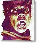 A Werewolf In London Metal Print