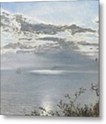 A White Calm After Thunder Showers Metal Print