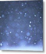 A Snowy Afternoon Metal Print