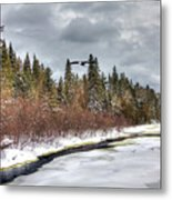A Winter View Metal Print