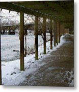 A Winter Walk Metal Print
