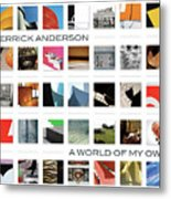 A World Of My Own Metal Print