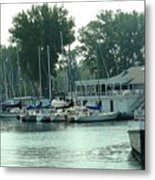A Yacht Club Metal Print