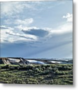 A Yellowstone Np Mesa Metal Print