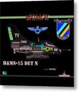 A4-c Skyhawk Vsf Metal Print