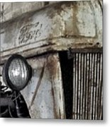 Abanded Tractor 4 Metal Print