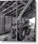 Abanded Tractor 5 Metal Print