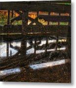 Abandon Dock Metal Print