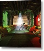Abandon Ship Metal Print