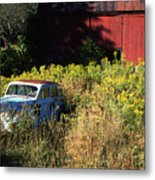 Abandoned Metal Print by Barry Shaffer