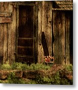 Abandoned Metal Print by Bonnie Bruno
