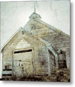Abandoned Church 1 Metal Print