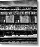 Abandoned Circus Transport Car Metal Print