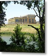 Abandoned Electric Plant Metal Print