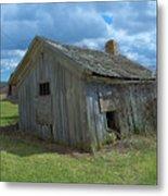 Abandoned Farm Building Metal Print