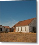 abandoned farm house dance hall #VanishingTexas Metal Print