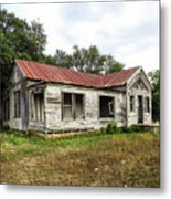 Abandoned Farm House Metal Print