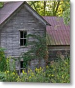 Abandoned Farmhouse On Stacy Fork Metal Print