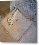 Abandoned Fishing Knot Metal Print