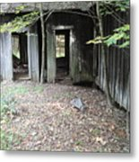 Abandoned House Metal Print by Terry  Wiley