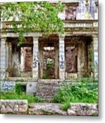 Abandoned In Mostar Metal Print