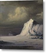 Abandoned In The Arctic Ice Fields Metal Print