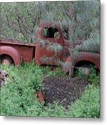 Abandoned Job - Santa Margarita, California Metal Print