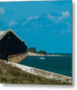 Abandoned Keys Bridge Metal Print