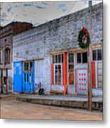 Abandoned Main Street Metal Print