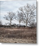 Abandoned Military Site Metal Print
