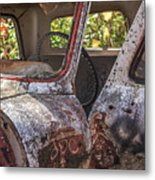 Abandoned Old Truck Newport New Hampshire Metal Print