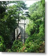 Abandoned Passage Metal Print