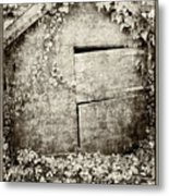 Abandoned Playhouse Metal Print