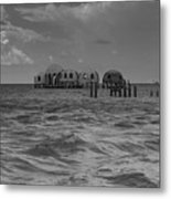 Abandoned Project Metal Print