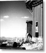 Abandoned Radar Metal Print