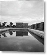Abandoned Swimming Pool Metal Print