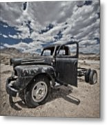 Abandoned  Metal Print by Merrick Imagery