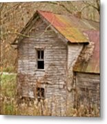 Abandoned Turn Of Centruy Home Metal Print
