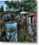 Abandoned Vehicles - Veicoli Abbandonati  1 Metal Print